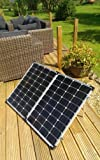 120W 100W+NEW 150W FOLDING Portable Solar Panel kit TITAN-ENERGY UK for charging a battery with 10Acontroller,cable,MC4 connectors