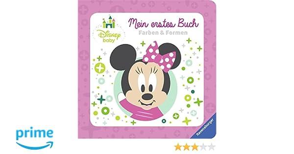 Disney Baby Mein erstes Buch Minnie Maus: Farben und Formen: Amazon ...
