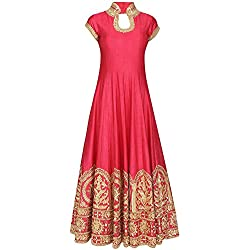 Dresses And Dress Materials For Women New Designer Party Wear Collections For Women's Banglori Silk Salwar Suit Dress Material
