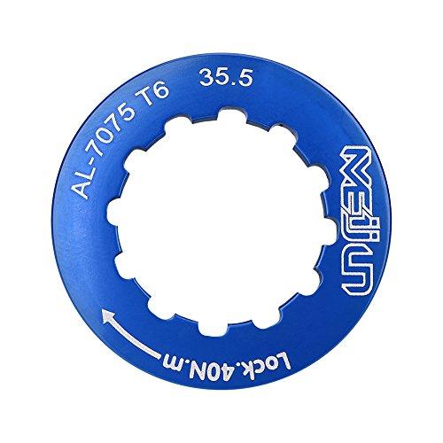 Fahrrad Kettenras Lockring für 7-11 Speed   Mountain Bike(Blau) -