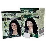 NEW MOON Noni Black Hair Shampoo Instant Hair Dye Color 10 Pieces