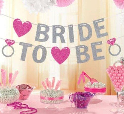 Bride To Be Hochzeit Banner Braut Girlande Hochzeit Schild Hochzeit Party Dekoration