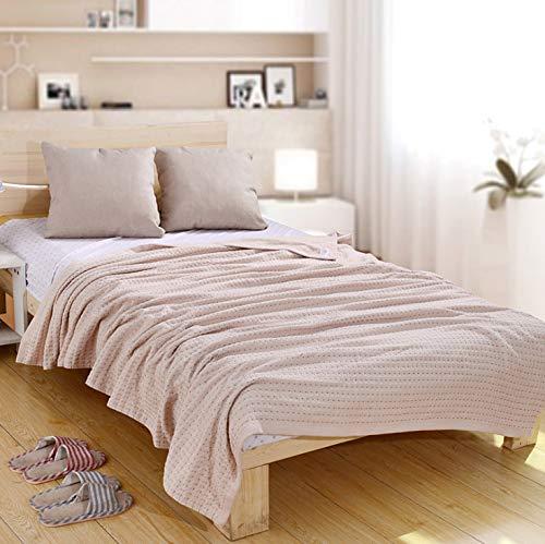 HXZDP 150 * 200cm Baumwolle Gewebt Waffel Decke Weiches Bett Werfen Decken Für Sommer Erwachsene Sofa Decke -
