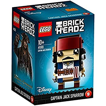 LEGO 41593 - Brickheadz, Captain Jack Sparrow