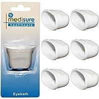 Mediusure Healthcare Augenbrauen-Badewanne, Kunststoff, zur Schmerzlinderung, Einheitsgröße, 6 Stück preisvergleich bei billige-tabletten.eu