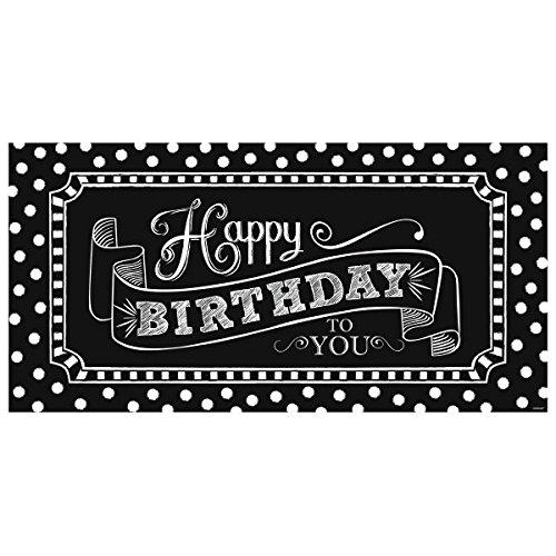 m Happy Birthday Giant Party Schild ()