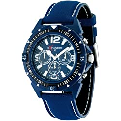 Sector Men's Quartz Watch with Blue Dial Analogue Display and Blue Fabric Strap R3251197006