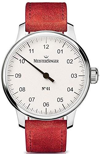 MeisterSinger N°01 - 40mm - DM301 Reloj Mecánico para hombres