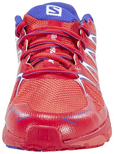 Salomon L37918500, Scarpe da Trail Running Donna, Rosso Arancione