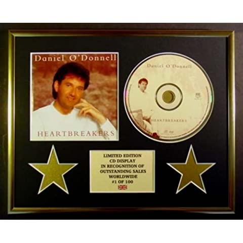 DANIEL O' DONNELL/CD Display/Limitata Edizione/Certificato di autenticità/HEARTBREAKERS