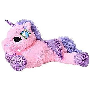 te-trend Caballo de peluche unicornio