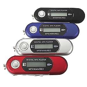 8G Clé USB Lecteur Baladeur MP3 Player FM rouge