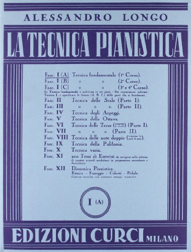 Tecnica pianistica. Volume 1