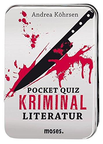 Moses Verlag 639 - Pocket Quiz: Kriminalliteratur Edition Mordlust