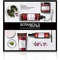 Botanicals Fresh Care L'Oréal Paris Geranio Rimedio di Brillantezza, Cofanetto Trattamento per Capelli Colorati o Spenti, 4 prodotti, Senza Siliconi o Coloranti