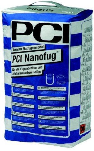 """15Kg PCI Nanofug """" lichtgrau """" Nr. 23 flexibler Fugenmörtel"""