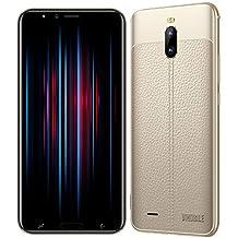 """Cellulari Offerte v·mobile J6 (Display 6.0"""" HD Dual SIM 4800mAh 2GB+16GB Fotocamera 8MP Cellulari Economici Quad Core Android 7,0 GPS 3G+ Smartphone Economici in Offerta Telefonia Mobile (Oro)"""