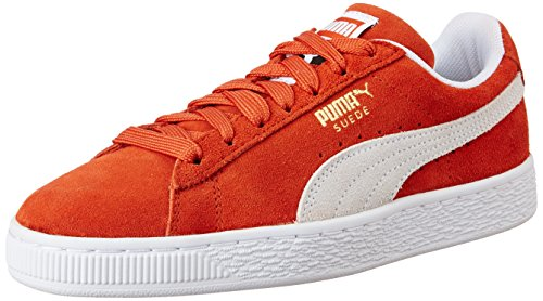 Puma Unisex-Erwachsene Suede Classic Sneaker, Rot (Burnt Ochre White), 42 EU