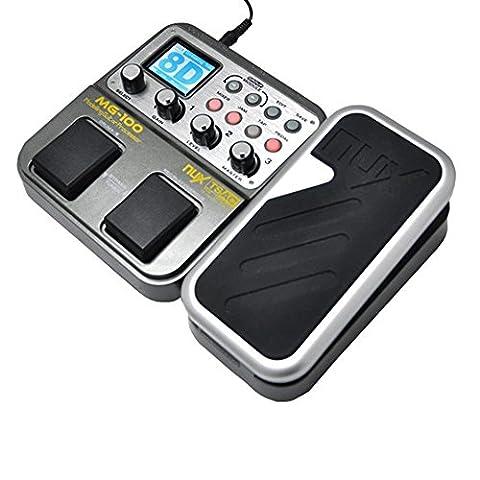 NUX mg-100 E-Gitarre Multi-Effekt Pedal Prozessor EFX AMP EQ Mixer