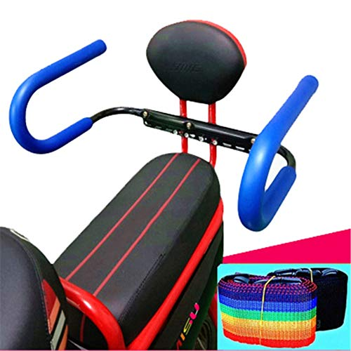 ZXXxxZ Kindersitz Hinten Fahrrad Motorrad Pedal Sicherheit Rutschfeste Handlauf Modische Faltbare Tragbare Durable Seat 2 Pack