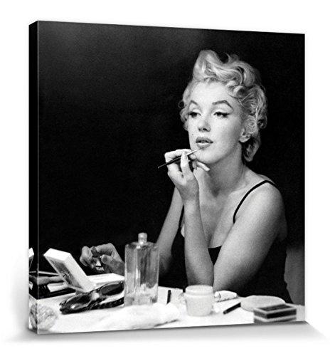 1art1 82194 Marilyn Monroe - Manche Mögens Heiß Leinwandbild Auf Keilrahmen 40 x 40 cm