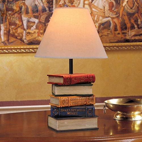Tischlampe Bücherstapel