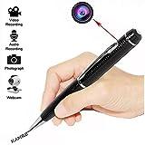 kamre multifunción HD cámara oculta Spy Pen, Mini cámara Spy Pen cámara, Real HD Video Cámara & de grabación (Silver, 720p)