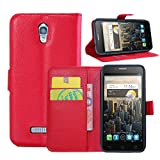 Guran Housse En Cuir pour Alcatel OneTouch Pop S7 Smartphone Flip Cover Etui Debout...