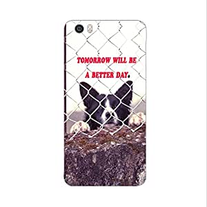 Skintice Designer Back Cover with direct 3D sublimation printing for Xiaomi Mi5