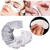 Grenho - 50 pares de almohadillas de gel para extensión de pestañas bajo los ojos, sin pelusas, parches para los ojos