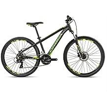 Orbea MX26 Dirt - Bicicleta de montaña juvenil, schwarz-grün-gelb