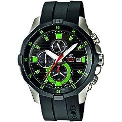 Casio Herren-Armbanduhr XL Edifice Analog Quarz Edelstahl EFM-502-1A3VUEF