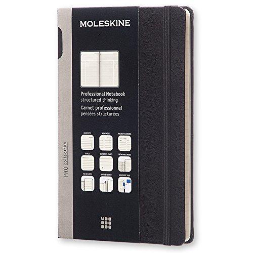 Moleskine Large Professional Hard Notebook por Moleskine