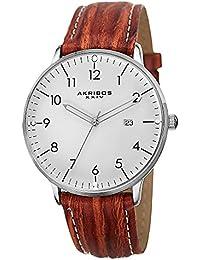 Akribos XXIV Reloj con movimiento cuarzo suizo Man AK715BR 38 mm