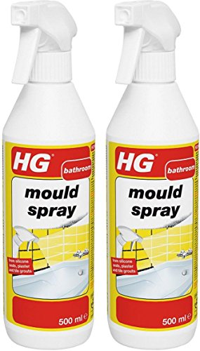 2 x HG Hagesan Bathroom Mould Removal Spray 500 ML by HG