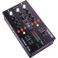 DJ-Tech Mixer One 2-Kanal USB Mixer im Metalgehäuse