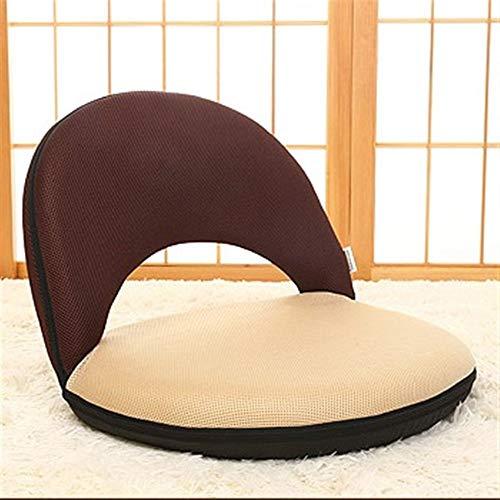 WJQSD Fußbank Lazy Sofa, Klappbarer Sitzboden Verstellbarer Gepolsterter Stuhl Lazy Sofa Game Meditation Chair Hocker Lagerung, Schlafzimmer (Color : #3) -