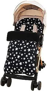 Ezizb Fußsack Für Joie Buggy Sportwagen Winterfußsack Für Kinderwagen Universal Babyschlafsack Herbst Und Winter Regenschirm Winddichte Fußdecke Anti Kick Kick Fleece Küche Haushalt