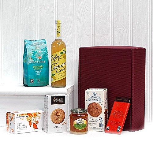 Organic Refresher Gift Box Hamper (7 Items) Gift ideas for Birthday, Anniversary, Christmas and Corporate Gifts