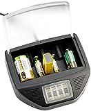 tka Köbele Akkutechnik Batterieladegerät: Universal-Akku-Schnell-Ladegerät, 2x USB für Li-Ion/NiCd/NiMH/9V-Block (Acculadegerät)