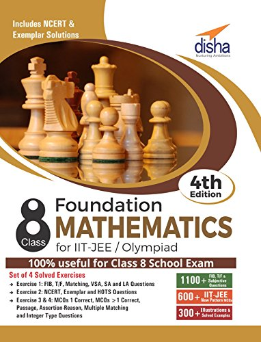 Foundation Mathematics for IIT-JEE/ Olympiad Class 8