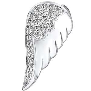 Rafaela Donata - Pendentif ailes - Argent sterling 925 oxyde de zirconium, pendentif oxyde de zirconium, bijoux en argent - 60800037