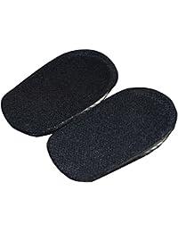 Auto-Adhésif Silicone Hauteur Intérieure Intérieure Hommes et Femmes Confort Adult Invisible Half Pads Talon Pads Up Pad Epaisseur 1.5cm / 2.5 cm / 3.5cm Noir / Rose 1Pair