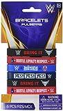 Amscan 395656 WWE Rubber Bracelets