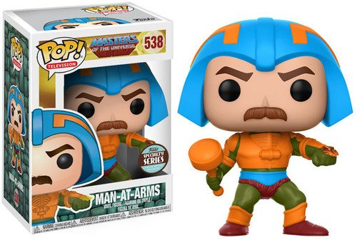 Figura POP! Master of the Universe Man-At-Arms Speciality Series Exclusive