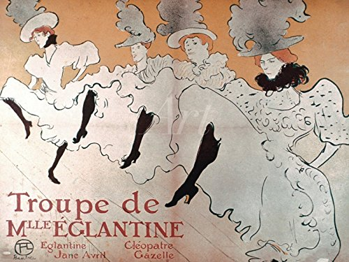 Artland Wandbilder selbstklebend aus Vliesstoff oder Vinyl-Folie Henri de Toulouse-Lautrec Die...