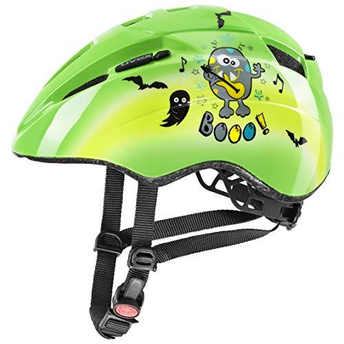 uvex Unisex Jugend Kid 2 Fahrradhelm, Green, 46-52 cm