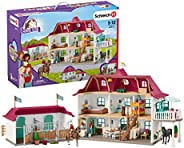 Schleich Large Horse Stable PlaySet, Blue, 20816
