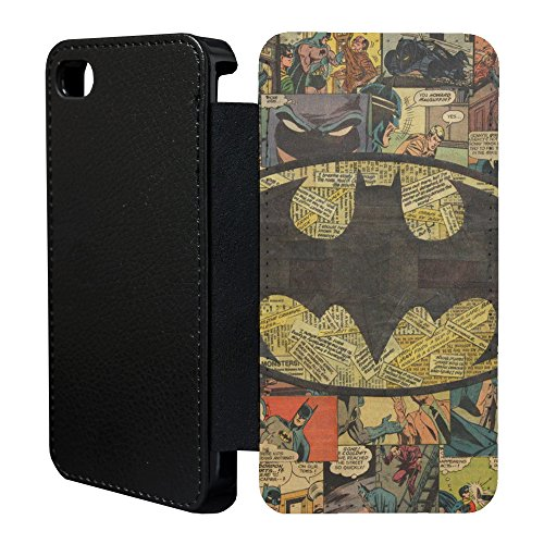 Accessories4Life DC Marvel Comic Book Flip Case Cover for Apple iPhone 5C - Batman - 926