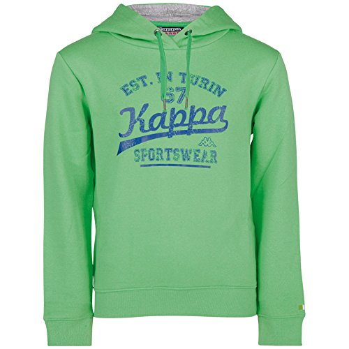 Kappa Herren Wanja Hooded Sweatshirt Irish Green